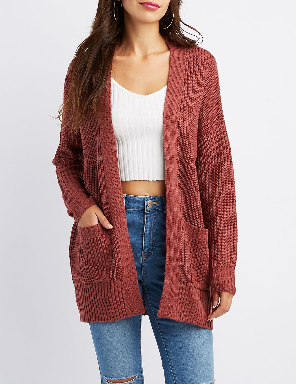 Shaker Stitch Boyfriend Cardigan  f784cd9c1