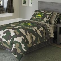 John Deere Camo Bedding House Pinterest Exercices - John deere idees de decoration de chambre