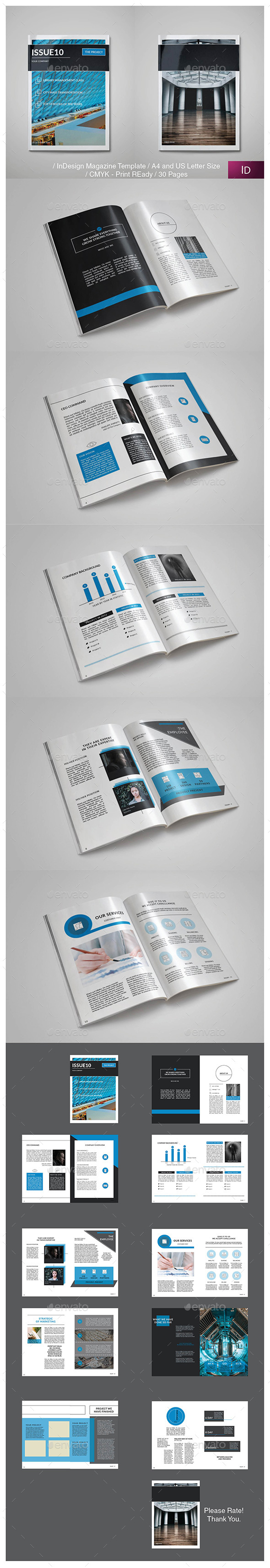Corporated Brochure Template InDesign INDD. Download here: http ...