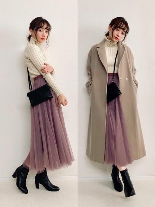 黒ブーツコーデ30選♡パンツ・スカート・ワンピースとの着こなし方をご紹介!