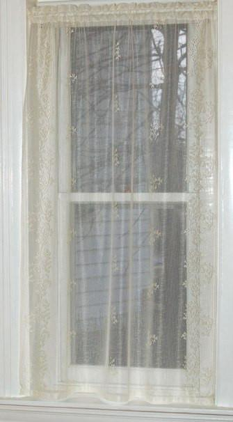 Sheer Divine Lace Curtains Diy Blinds Fabric Blinds Vertical