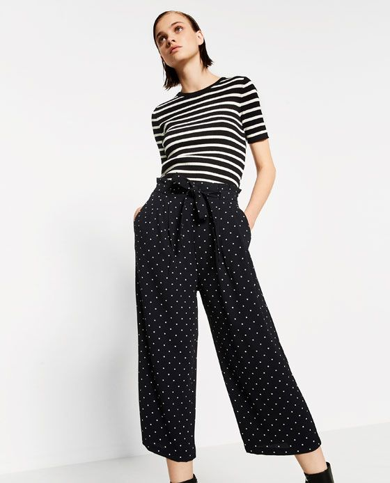 4bf4fc2570db Image 2 of CULOTTES from Zara
