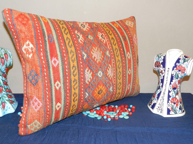 Kilim pillowdecorative pillow coverslumbar pillowslumbar pillow