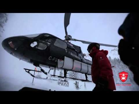 December 2014 at Great Canadian Heli-Skiing