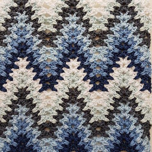 Heartbeat Ripple Blanket Free Crochet Pattern | Knitting + Crochet ...