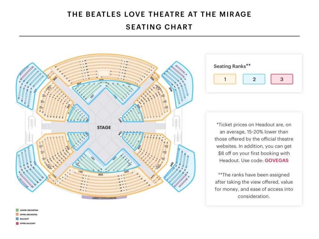 The Most Brilliant And Stunning Mystere Seating Chart Di 2020