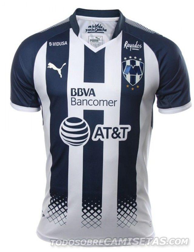 Camiseta local PUMA de Rayados de Monterrey 2017-18  0442616cd1d88