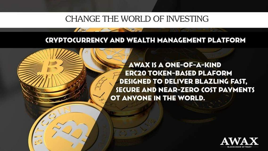 Next GENERATION of banking AWAX CRYPTO to FIAT. 100