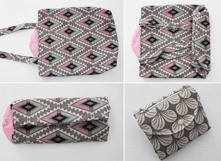 100 tolle Taschen-Schnittmuster | Nähen | Pinterest | Einkaufstasche ...