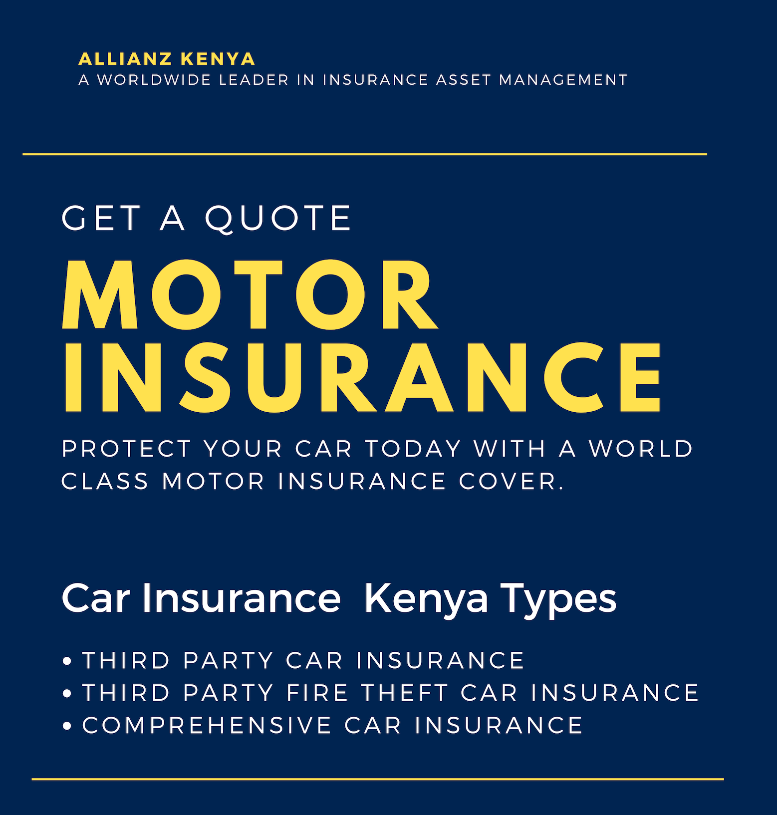 Whether You Want To Buy Comprehensive Car Insurance Or A