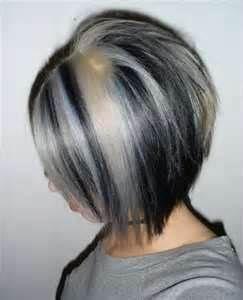 Black Silver Hair Bing Images Hair Hair Hair Styles Hair
