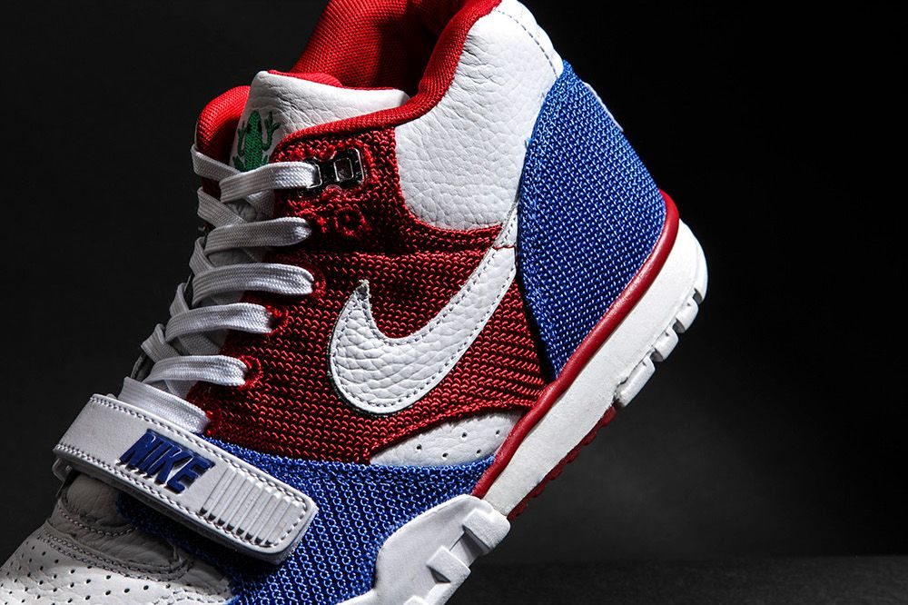 outlet store a8c87 177ad Nike Air Trainer 1 Mid Premium QS Puerto Rico