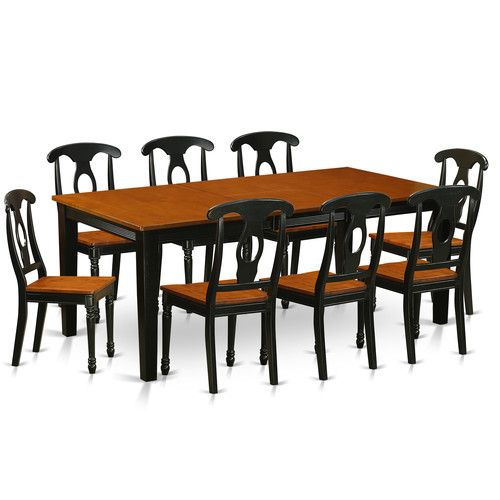 Found it at Wayfair - Quincy 9 Piece Dining Set