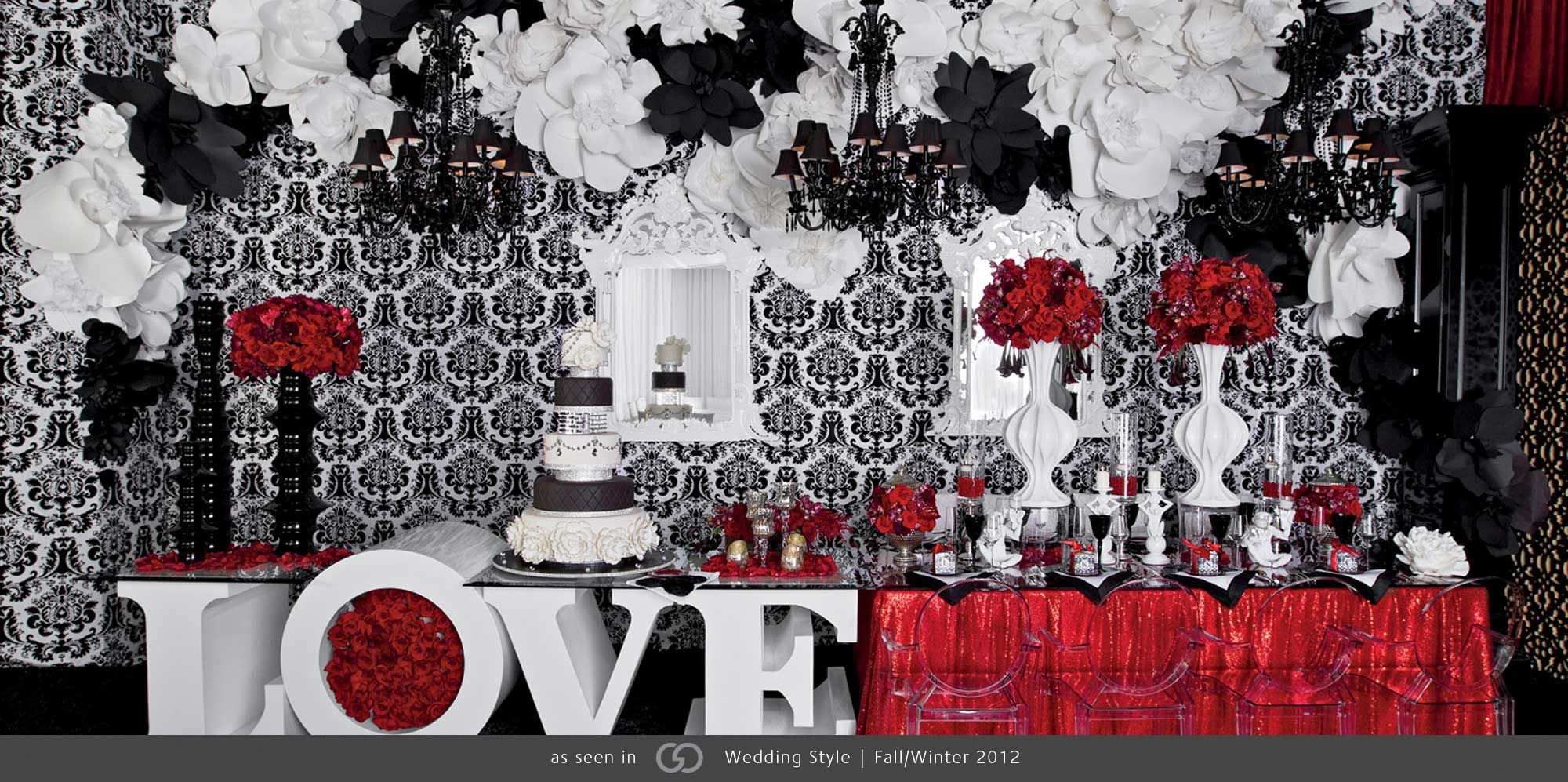 Black And White Wedding Reception Trends Ideas 2013 Lounge Rrivre Works Seen On Fullcircleevent