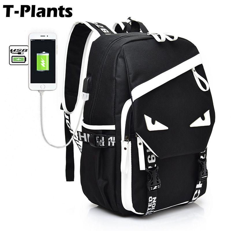 TPlants Fashion Backpacks for Men Oxford Notebook Laptop