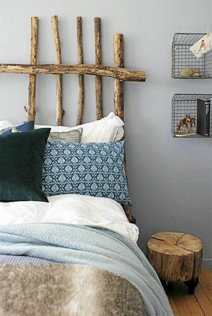 la t te de lit originale en 46 photos chambre lit tetes de lits originales et tete de lit. Black Bedroom Furniture Sets. Home Design Ideas