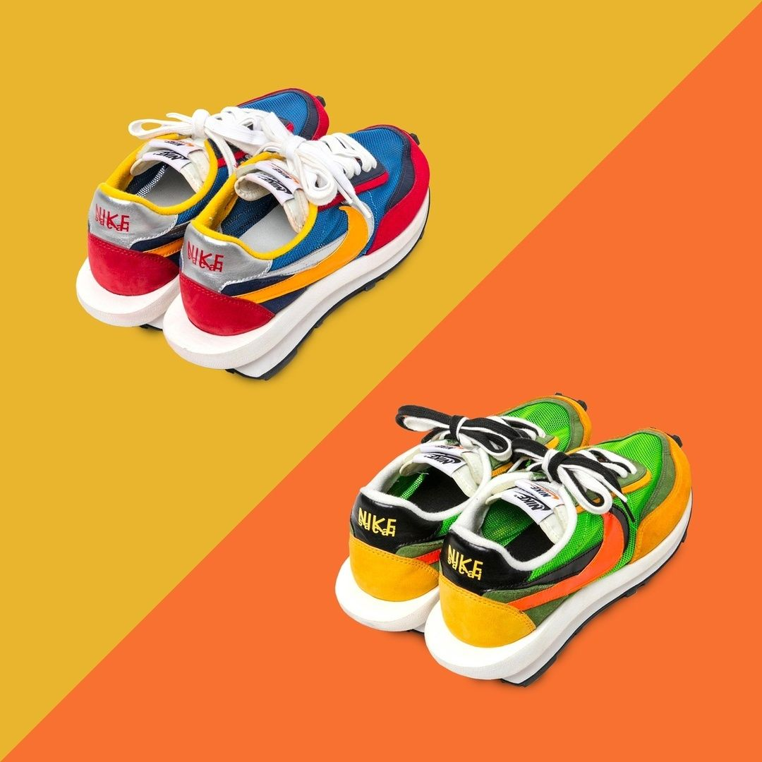 08ea4584c4d0 ike x Sacai LDV Waffle Racer | Utilising a unique 'doubled-up' aesthetic,  the Nike x Sacai LDV Waffle Racer turns the deconstructed