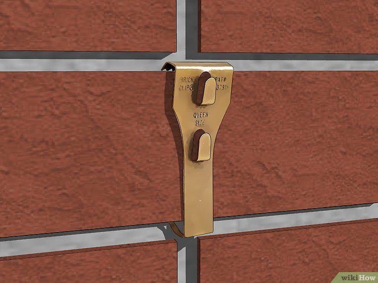 How To Hang Something On Brick Brick Hanger Brick Hanging