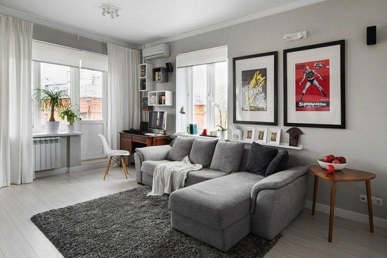 salle de sjour dco salon gris et taupe pour un intrieur raffin et trs styl