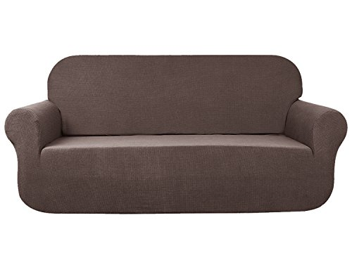 Aujoy Stretch Loveseat Cover Water Repellent Couch Covers Dog Cat