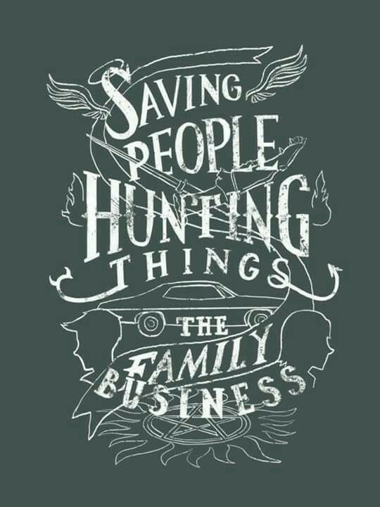 Saving People Hunting Things Family Business Supernatural Poster