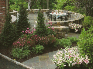 Mountain style landscaping mountain lakes landscaping contractor the finest company for your - Mountain garden landscaping ideas ...
