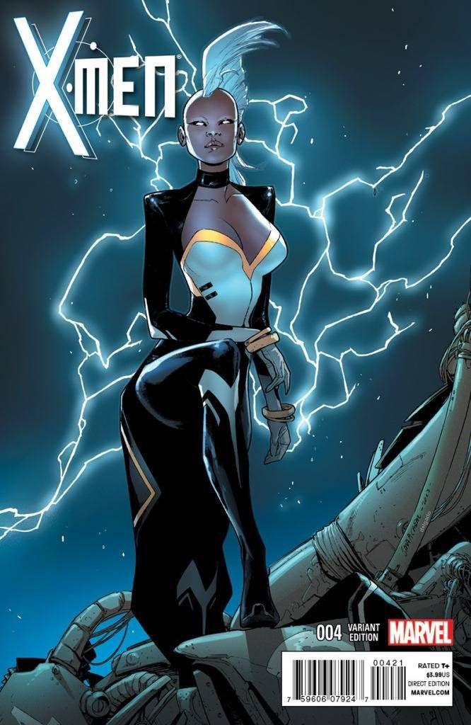 X Men 4 Sara Pichelli Variant Storm Marvel Xmen Comics X Men