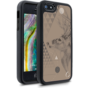 Cellairis Festival Range Maxed Out Case for Apple iPhone 5/5S