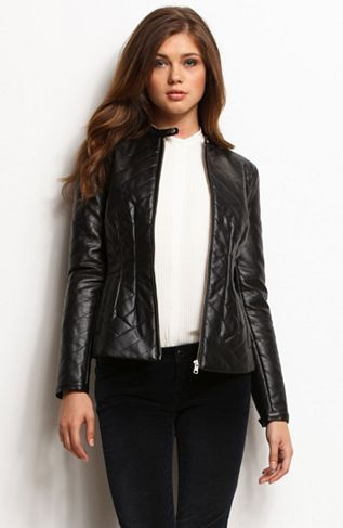 c23111b308 Quilted Faux Leather Jacket - Jackets & Blazers - Womens - Armani Exchange