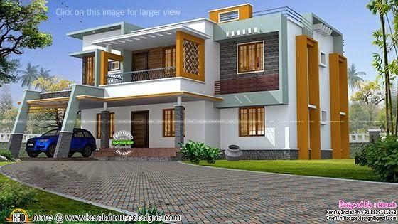 Box type house plan & Box type house plan | Modern Hse 1 | Pinterest | House elevation ... Aboutintivar.Com