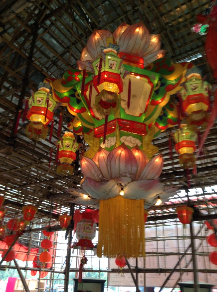 Hong Kong Chinese New Year 2015 Ceiling lights, Chinese