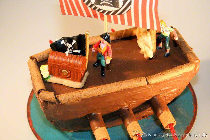 Superb Kuchen Schiff Piraten Schiff Kindergeburtstag Planen