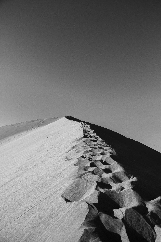 Black white photography exploring huacachina lines blackandwhitephotography
