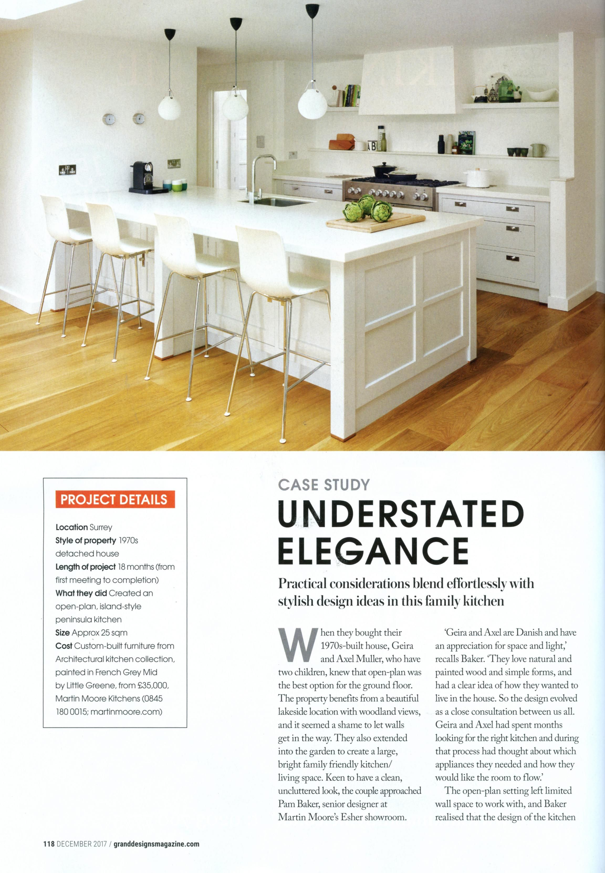 This case study features a beautiful custom-built kitchen from ...
