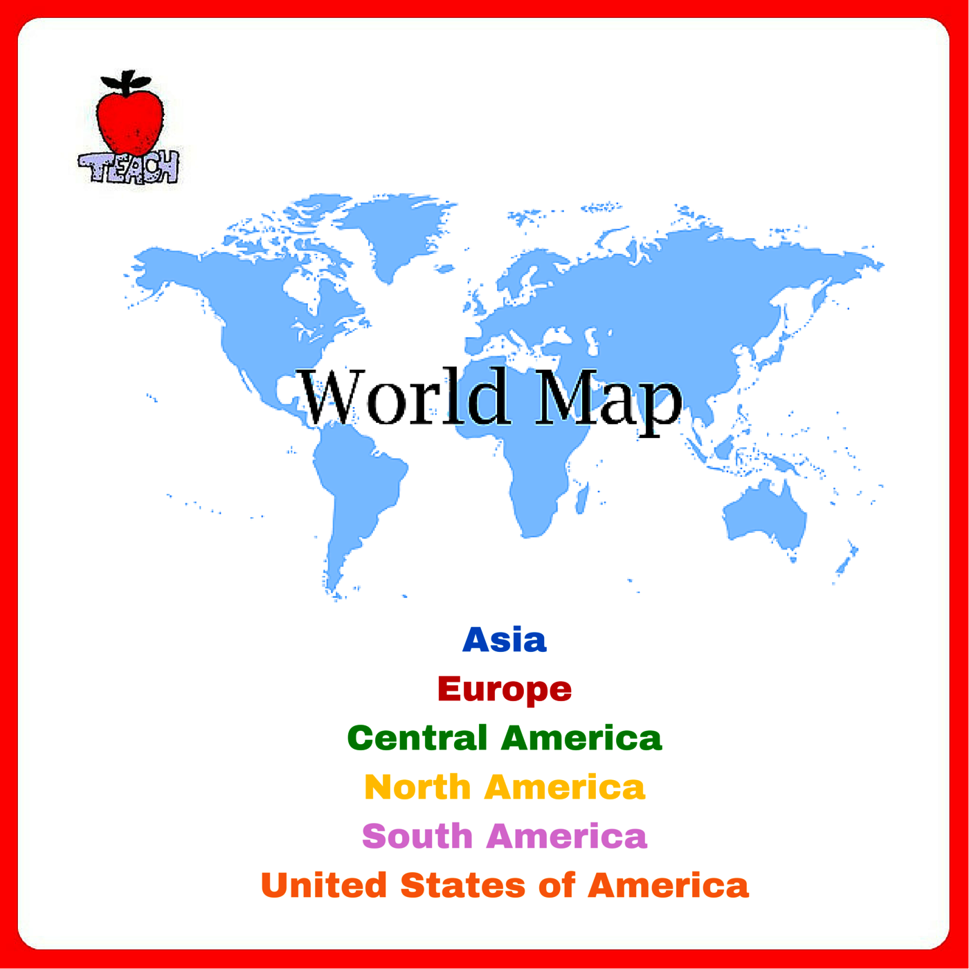 Review world map skills and basic geography pinterest map skills review world map skills and basic geography learn location of countries around the globe with printable world map gumiabroncs Image collections