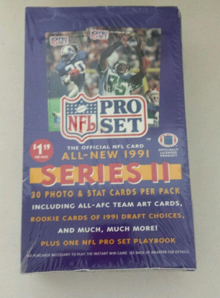 NEW 1991 NFL Pro Set Series ( II 2 )Football Cards