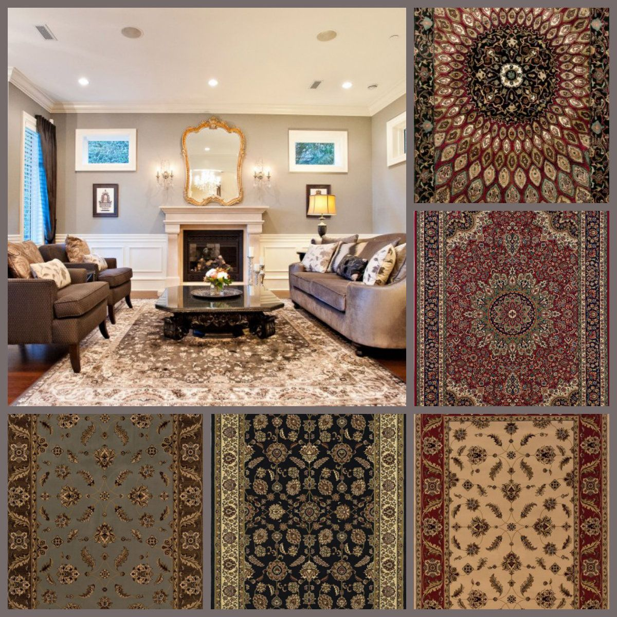 Traditional Area Rugs for Your Living Room Decoration with Different Designs from #Online #AreaRugStore