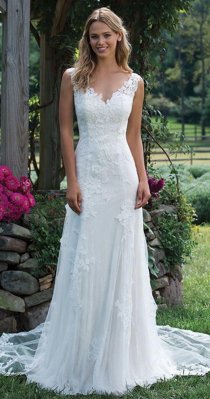 Sincerity Bridal Fall 2017 Wedding Dresses | Lace applique ...