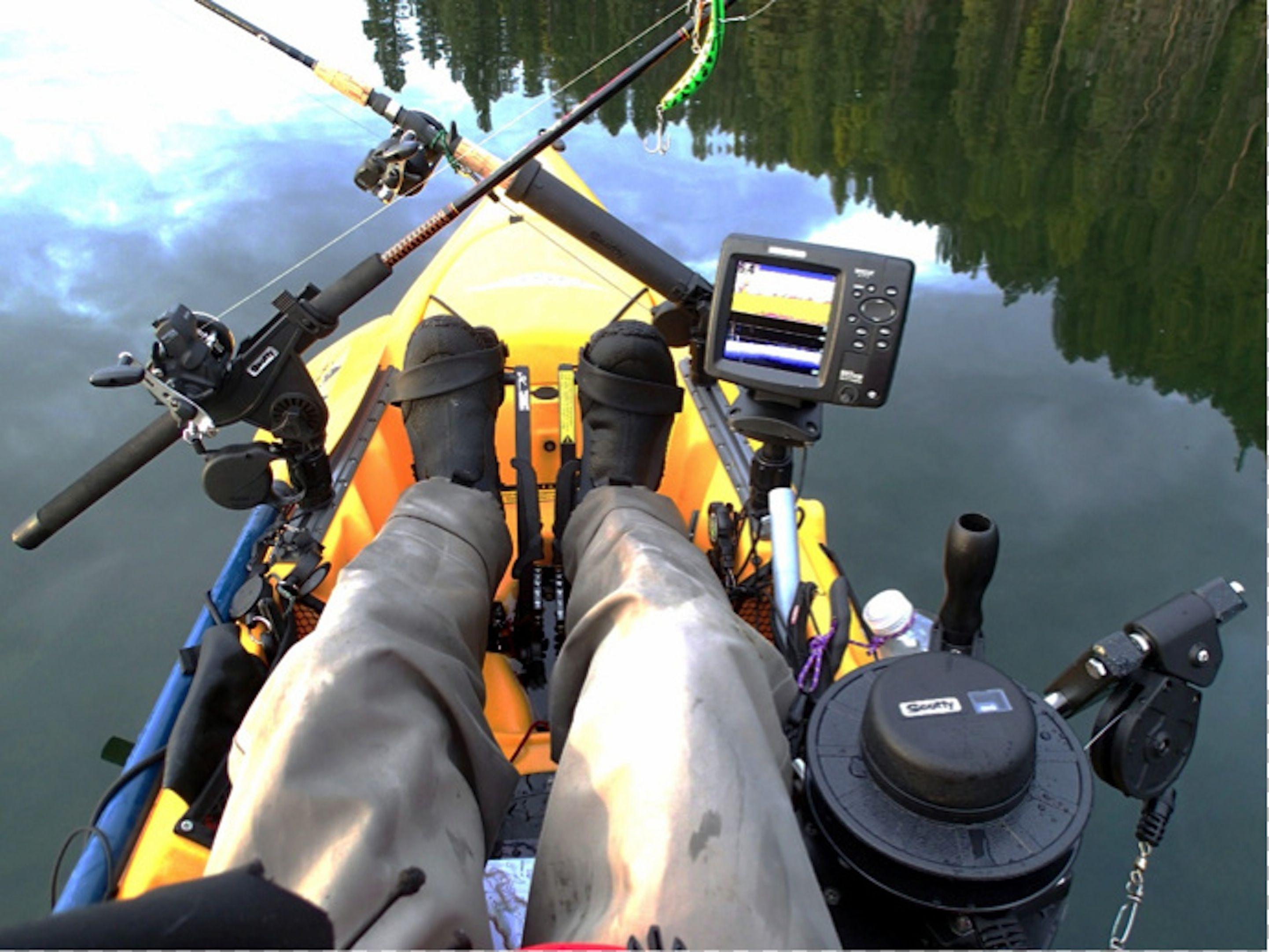 Rigging Your Downrigger Kayak Fishing Kayak Fishing