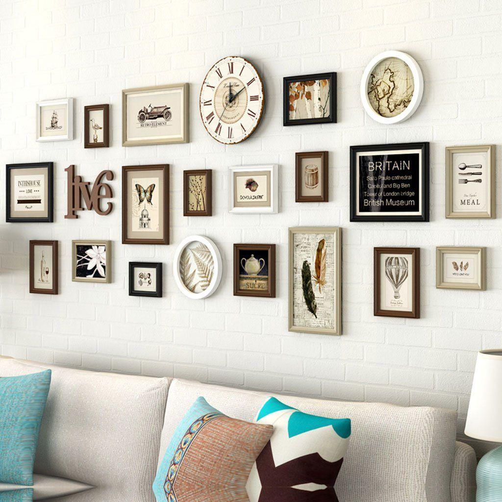 Foto Wandrahmen Holz Bilderrahmen, 20 Teile / sätze Collage ...