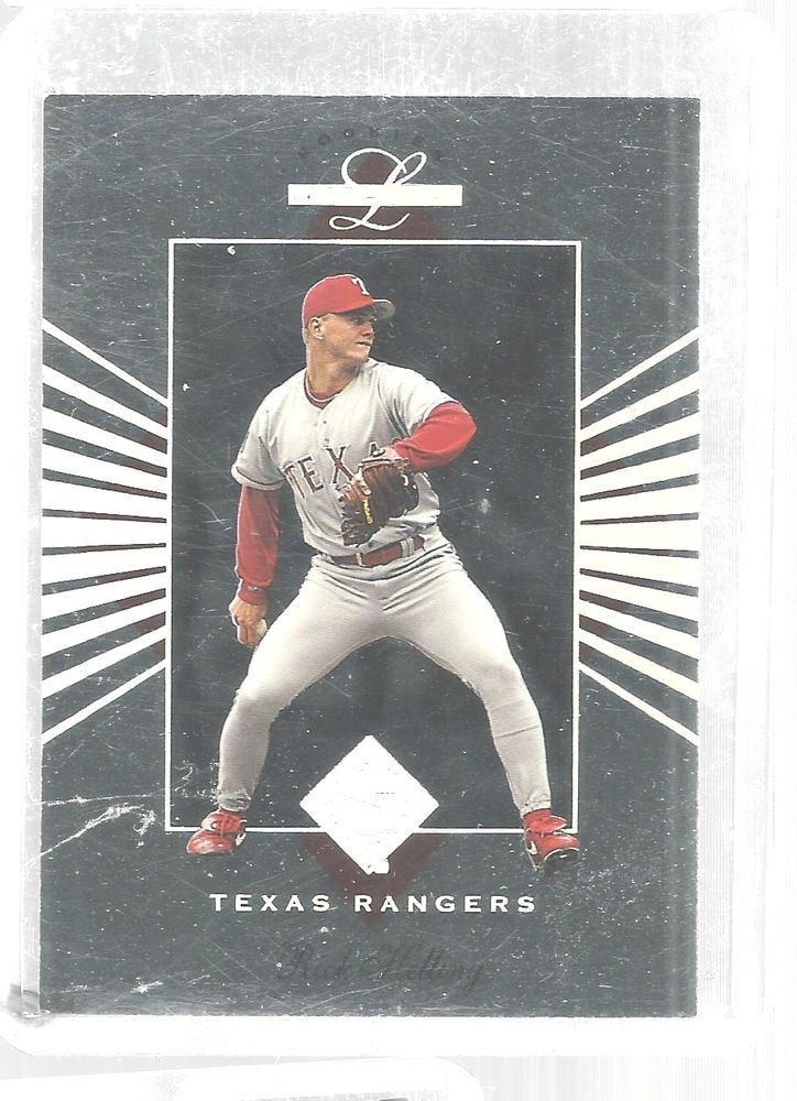 1995 Leaf Limited Rick Helling 47 Texas Rangers Rookie Baseball
