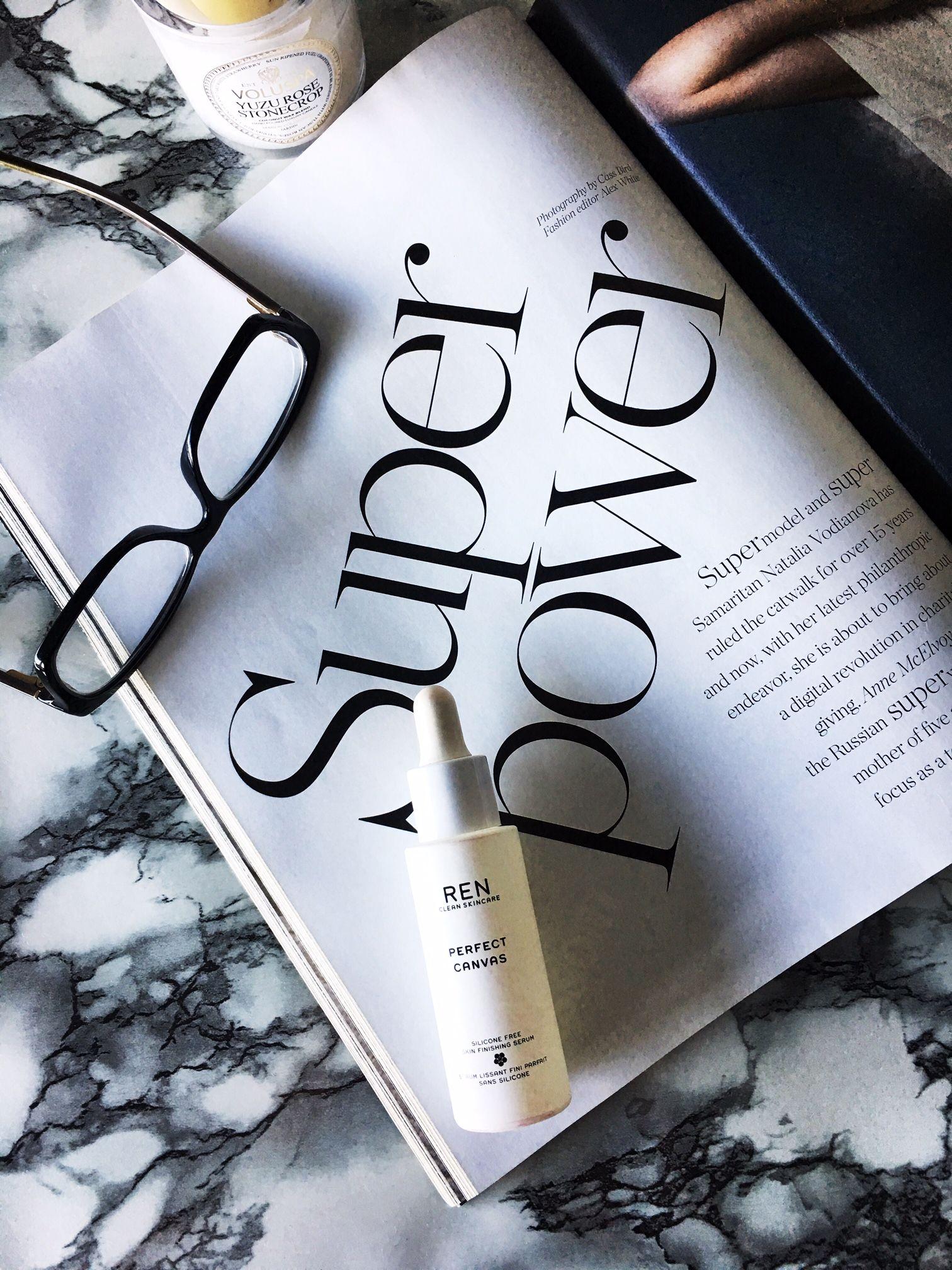 REN Perfect Canvas Serum Review Skin Finishing Serum