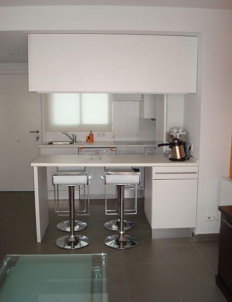 Casa 06 ideas para lugares peque os pinterest Disenos de cocinas modernas para apartamentos pequenos