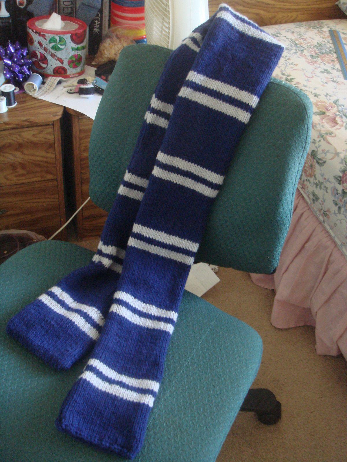 Harry Potter Ravenclaw Scarf | Pinterest | Ravenclaw scarf, Harry ...