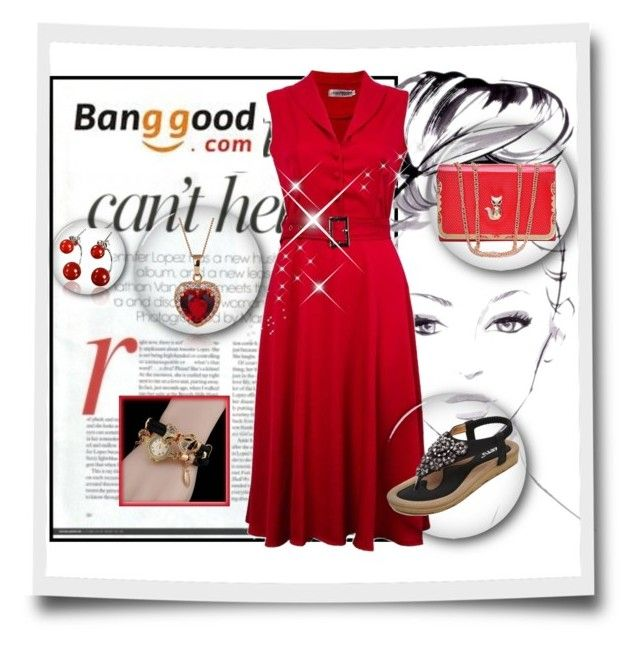 """10# Banggood"" by hazreta-jahic ❤ liked on Polyvore featuring Jennifer Lopez"