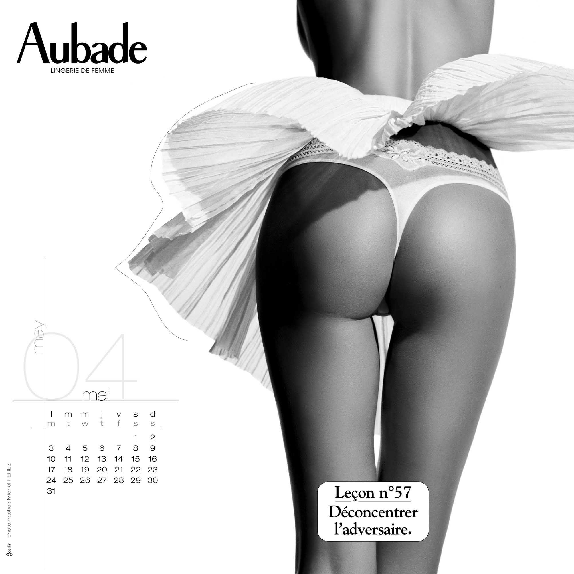 Aubade Leçon N°57 #lingerie #jetudielacom