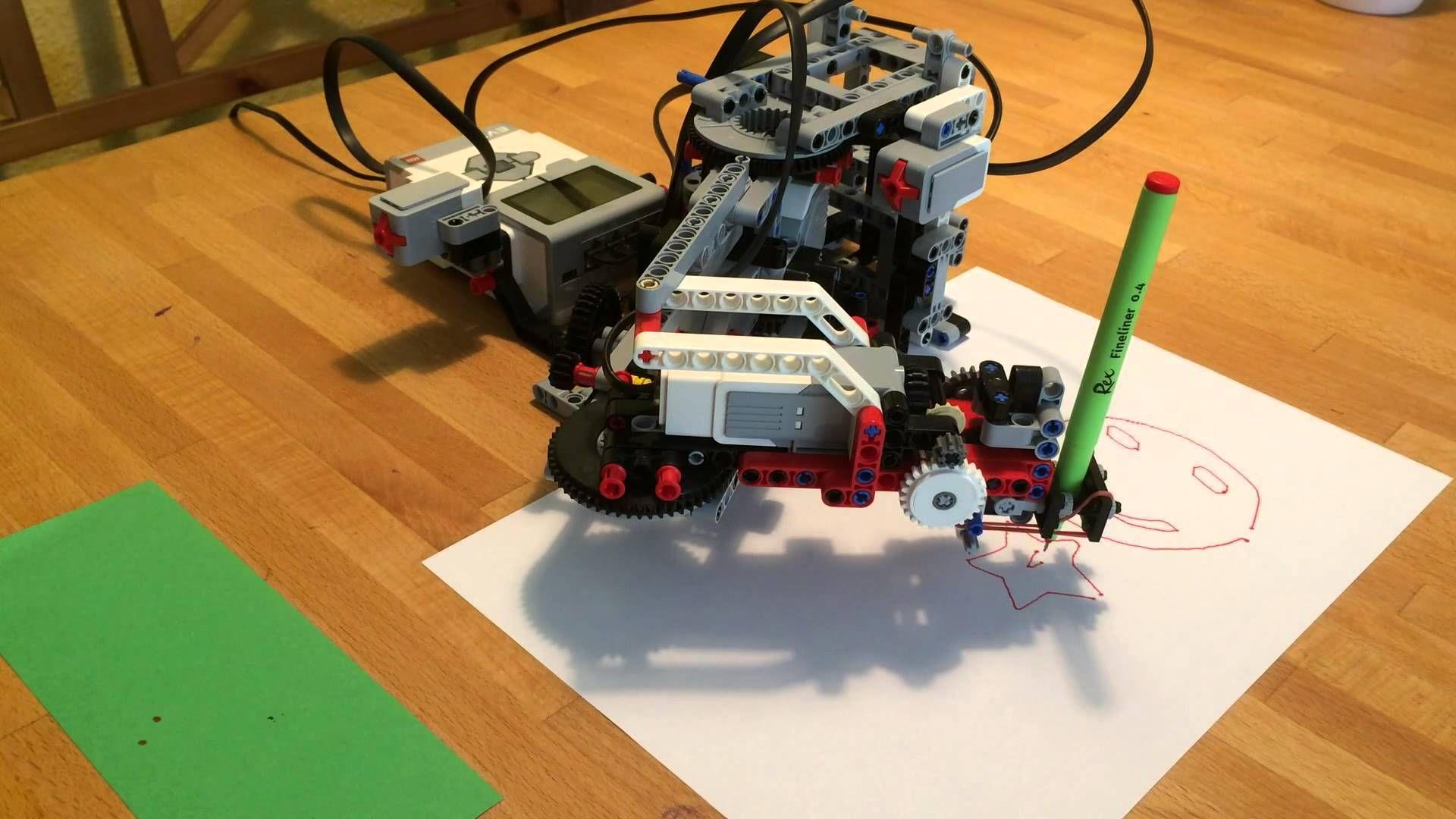 плоттер из lego инструкция