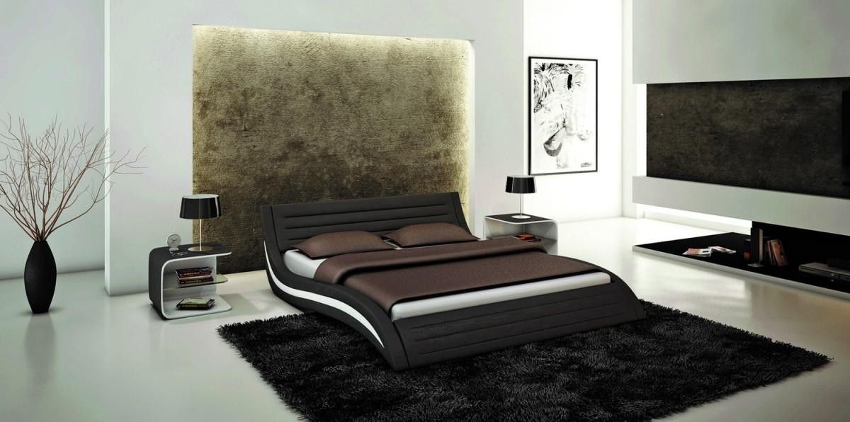 Ultra Modern Bedrooms swerve bed. this very unique bed is well designed with ultra