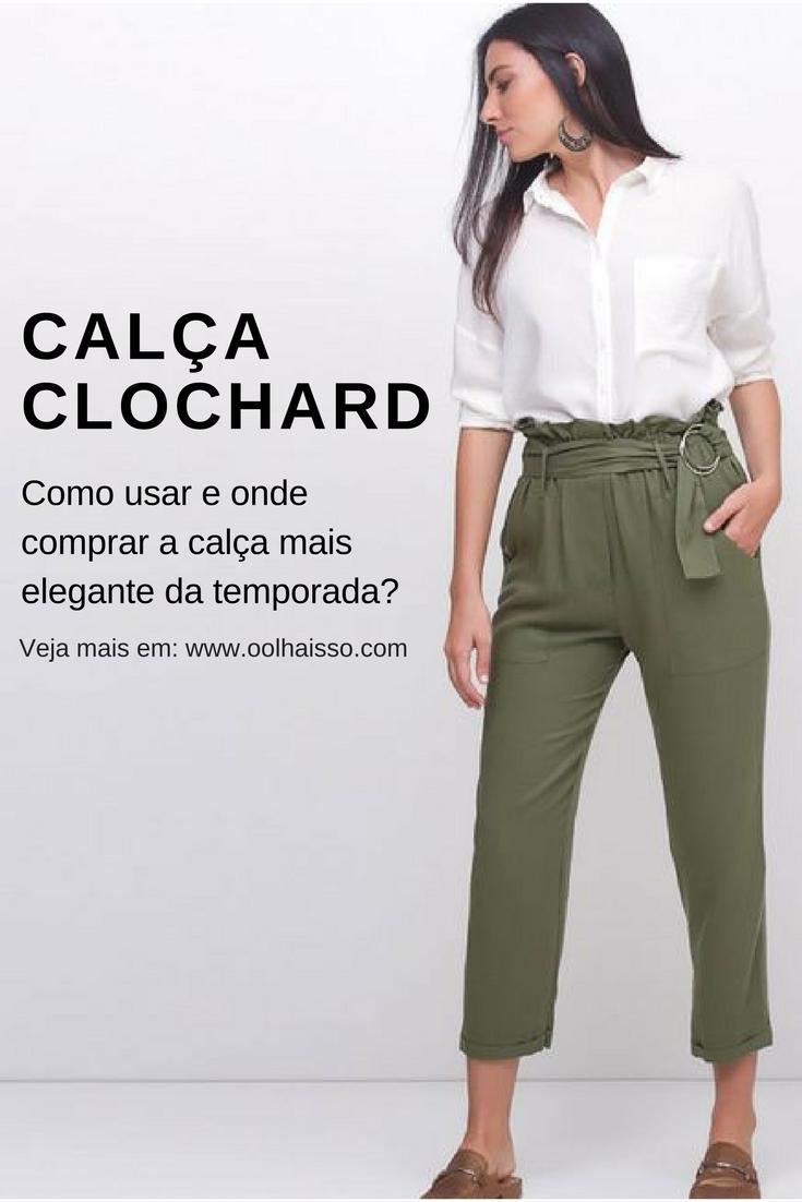 217bb4880 Como usar Calça Clochard e onde comprar essa peça bem elegante ...