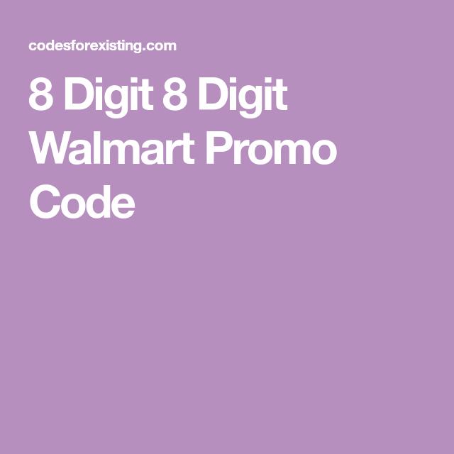 walmart promo code dec 2018